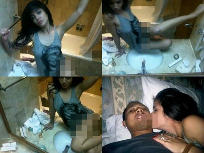 Gambar Foto Bugil Sheila Marcia Tidak PAkai Celana Dalam di WC Kamar Mandi Hot Syur