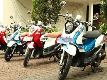 Motor Yamaha Mio Fino