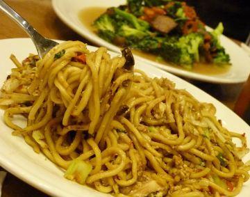 Meracik Sendiri Mi dan Nasi Goreng Fresh From The Wok