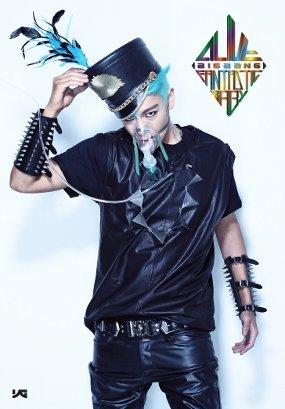 FOTO PERSONEL BIGBANG 'TOP' DI TEASER ALBUM BARU BIG BANG
