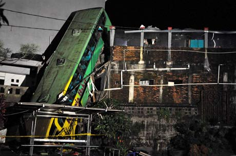 Tabrakan Bus Maut di Cisarua Bogor
