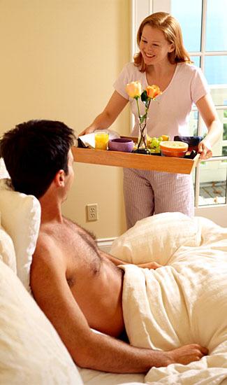 Как сделать своему мужу приятно в постели
