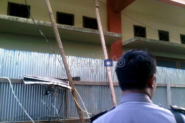 Jebol Ventilasi WC, Tahanan PN Samarinda Kabur