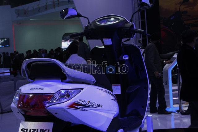 Skutik Anyar Suzuki Swish