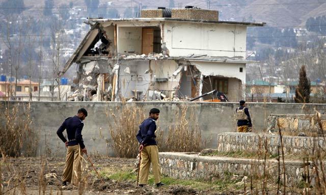 Tempat Persembunyian Osama Dihancurkan