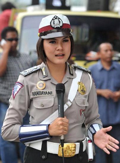 Foto Polwan polwan Cantik Jakarta