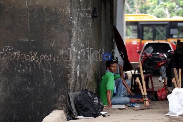 Perjuangan Berat di Kota Jakarta