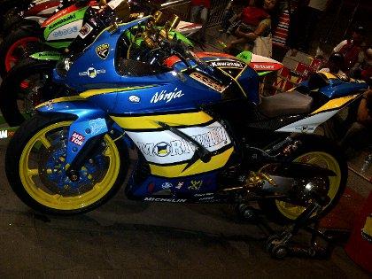 Modifikasi Kawasaki Ninja 250R SEMOK (Sensasi Motorsport Kontes)