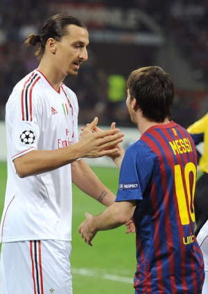 Messi & Ibrahimovic