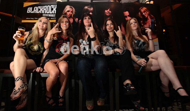 The Iron Maidens Siap Gebrak Jakarta