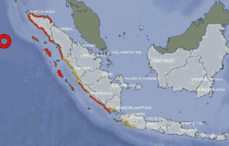 SYARAT SYARAT STATUS & TERJADINYA TSUNAMI Tanda Tanda Ancaman Tsunami