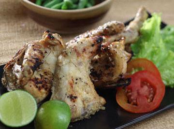 Resep Ayam: Ayam Bakar Kemiri