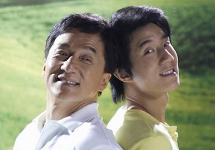 Jackie Chan Bermain Film Dengan Anaknya
