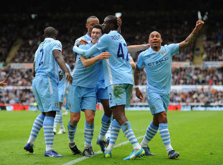 hasil Newcastle vs Manchester City