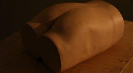Uniknya Robot Bokong Seksi Yang Bisa Bereaksi Saat Disentuh