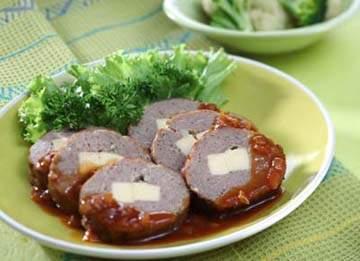 Resep Daging : Galatine Daging Keju