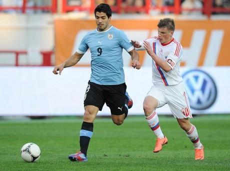 Laga ujicoba: Rusia ditahan Uruguay 1-1