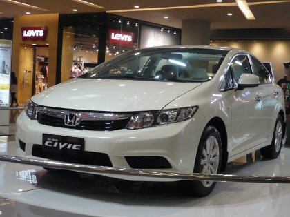 Intip New Honda Civic Terbaru