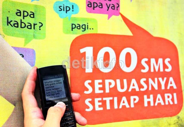 Selamat Tinggal SMS Gratis Lintas Operator