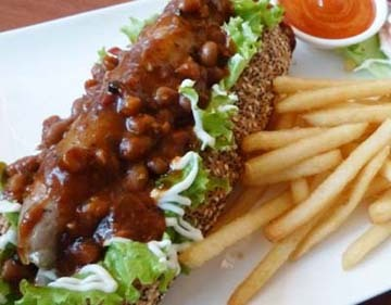 Resep Daging: Chili Bean Hotdog