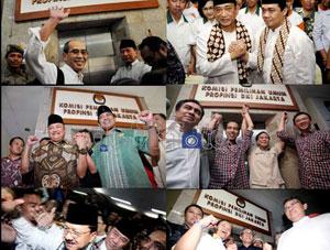 Daerah Untuk KAmpanye Pilgub Jakarta 2012