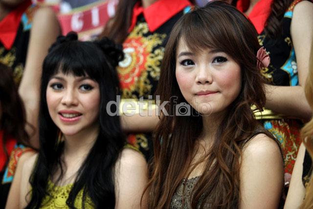 Foto Kezia dan Stefani Anggota Personil Baru Cherrybelle