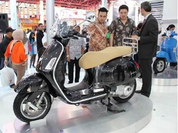 Motor Piaggio terbaru 2012