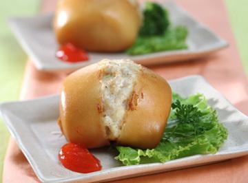 Resep Kue: Mantau Goreng Isi Ayam