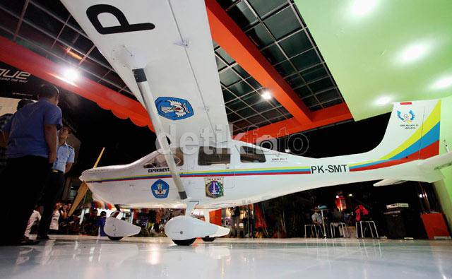 Pesawat Jabiru Buatan SMK Mejeng di PRJ