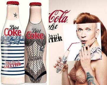 Desain Terbaru Botol Coca Cola Karya Jean Paul Gaultier
