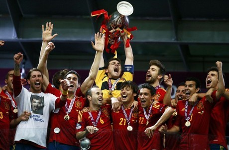 Bungkam Italia, Spanyol Juara EURO 2012