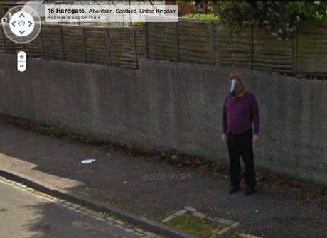 10 Penampakan Misterius di Google Street