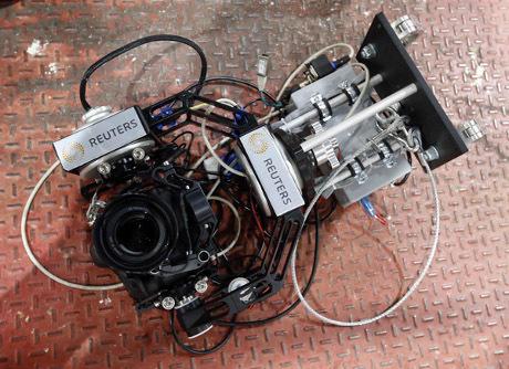 Kamera Robot Bantu Fotografer Liput Olimpiade London
