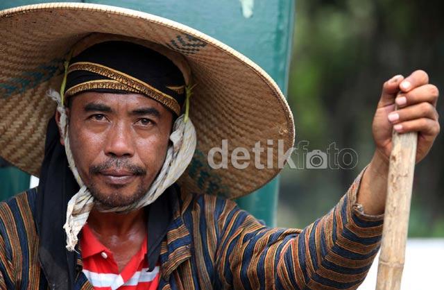Jalan Kaki, Korban Lapindo Sampai di Jakarta