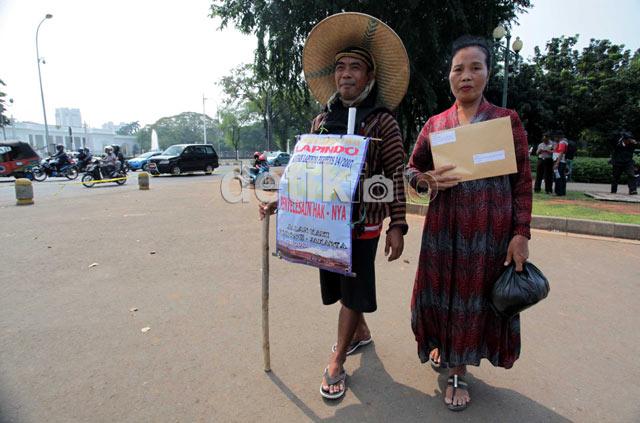 Korban Lapindo Jalan Kaki Kirim Surat ke SBY