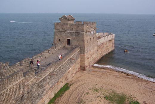 Shanhaiguan, ujung timur Tembok Besar China (okcjeff.hubpages.com)