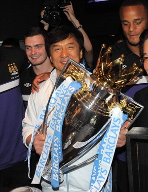 Jackie Chan, Suporter Baru Manchester City
