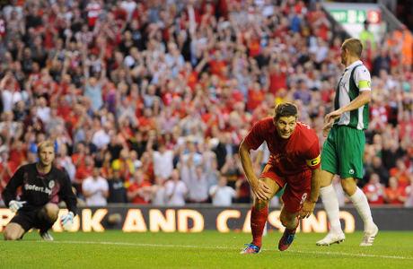 Hasil Pertandingan Liverpool vs  FC Gomel (Liga Eropa),Liverpool Lolos Ke Play Off