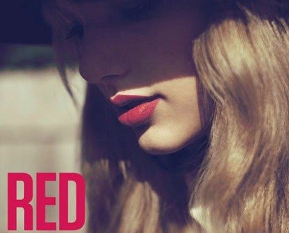 FOTO Taylor Swift Album RED
