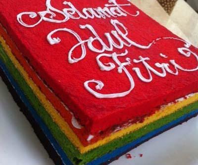 Resep Cake: Rainbow Cake