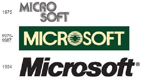 5 Logo Microsoft dari Masa ke Masa
