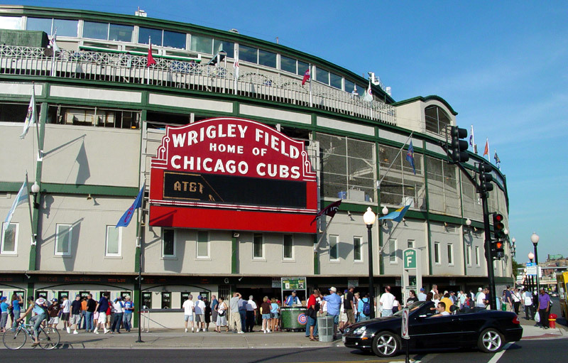 Wrigley Field, Chicago, AS
