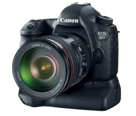 Canon Rilis Kamera Full-frame EOS 6D dengan WiFi & GPS