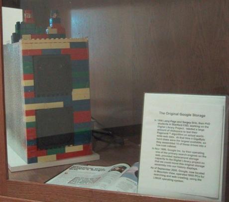 Storage dari Lego Google