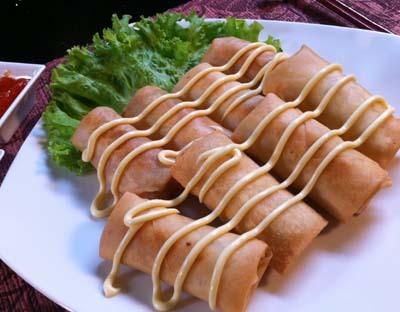 Resep Seafood: Lumpia Udang Mayones
