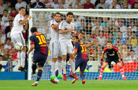 FOTO VIDEO FREE KICK LIONEL MESSI SUPER INDAH