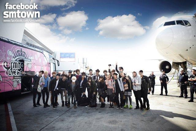 bagaimana suasana ruangan lain di kantor SM Entertainment?