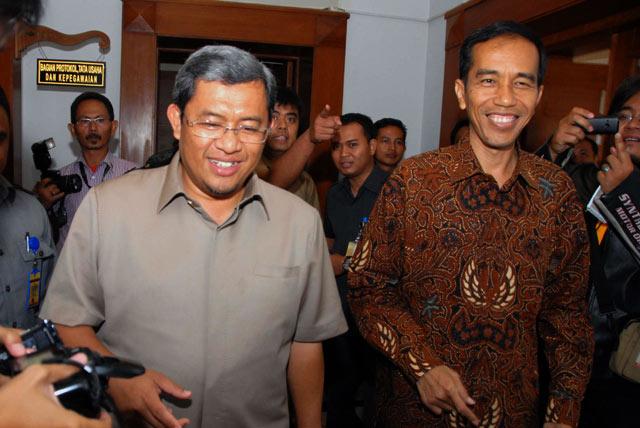 Ahmad Heryawan-Jokowi Bahas Banjir dan Macet