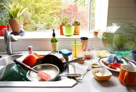 5 Hal yang Bisa Bikin Dapur Jadi Biang Penyakit | Choliknf1998.blogspot.com