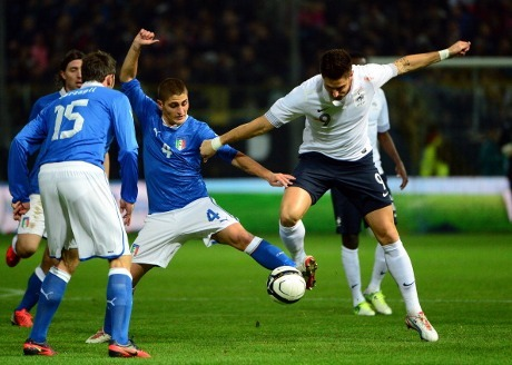 Italia vs Prancis